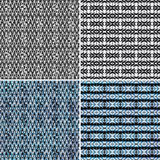 Seamless geometric patterns Royalty Free Stock Photo