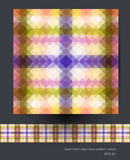Seamless geometric patterns vector Stock Image