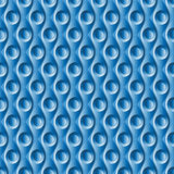 Seamless geometric plastic pattern Royalty Free Stock Photo