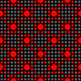 Seamless geometric polka dot pattern Royalty Free Stock Photos