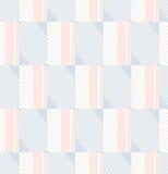 Seamless geometric retro pattern Stock Photography