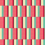 Seamless geometric retro pattern Royalty Free Stock Photography
