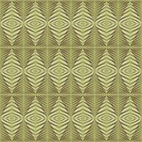 Seamless geometric rhombs pattern Stock Image