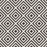 Seamless geometric rhombus mesh pattern Royalty Free Stock Image