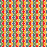 Seamless geometric rhombus pattern Royalty Free Stock Photos