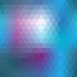 Blue mosaic seamless Royalty Free Stock Photos
