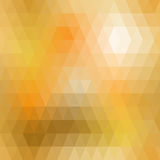 Yellow mosaic seamless Stock Photo