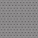 Seamless geometric square pattern background.  Royalty Free Stock Images
