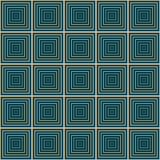 Seamless geometric square pattern Royalty Free Stock Images