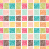 Seamless geometric square tile background Stock Photo