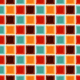 Seamless geometric square tile background Royalty Free Stock Image