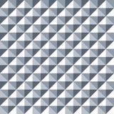 Seamless geometric stud pattern texture background. In metallic tones vector illustration