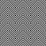 Seamless geometric texture. Stock Photography