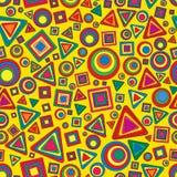 Seamless geometric texture Stock Image