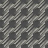Seamless Geometric Texture. Abstract Endless Stripe Background Stock Images