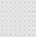 Seamless Geometric Texture with Rhombus and Dots Royalty Free Stock Photos