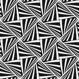 Seamless geometric texture. Royalty Free Stock Image