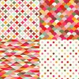 Seamless geometric tile background Stock Photography