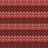 Seamless geometric tile Stock Image