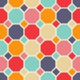 Seamless geometric tiles pattern Stock Photography