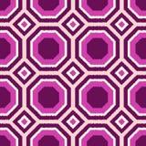 Seamless geometric tiles pattern Stock Photo