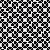 Seamless geometric tiles pattern in vintage style, vector abstra Stock Images