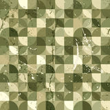 Seamless geometric tiles pattern in vintage style, vector abstra Stock Photography