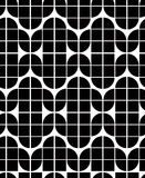 Seamless geometric tiles pattern in vintage style. Royalty Free Stock Photo