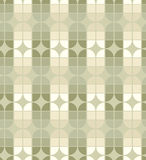 Seamless geometric tiles pattern in vintage style. Royalty Free Stock Images