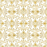 Seamless geometric tiling pattern Stock Photo