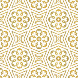 Seamless geometric tiling pattern Stock Image