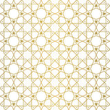 Seamless geometric tiling pattern Royalty Free Stock Images