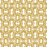 Seamless geometric tiling pattern Royalty Free Stock Photo
