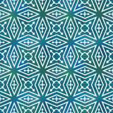 Seamless geometric tiling pattern Stock Photos