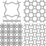 Seamless geometric tiling pattern Royalty Free Stock Image