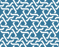 Seamless geometric tiling patterns Royalty Free Stock Image
