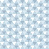 Seamless geometric triangle pattern background. Wallpaper royalty free illustration