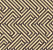Seamless Geometric Vector Background Stock Image