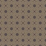 Seamless Geometric Vector Background. Seamless background for your designs. Modern vector ornament. Geometric abstract brown and golden pattern Royalty Free Stock Photo