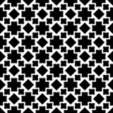 Seamless geometric vector background, simple black and white str. Seamless,geometric repeated,printing,bed sheet,domestic pattren,small element,design,texture royalty free illustration