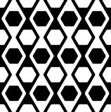 Seamless geometric vector pattern Royalty Free Stock Image