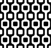 Seamless geometric vector pattern Royalty Free Stock Photography