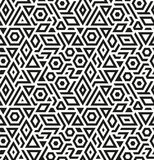 Seamless Geometric Vector Pattern Background Stock Image