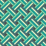 Seamless geometric vector pattern Royalty Free Stock Photo