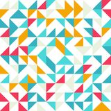 Seamless geometric, vintage pattern. With Stock Image