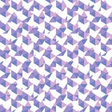 Seamless geometric violet pattern Royalty Free Stock Image