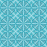 Seamless Geometric Wallpaper Pattern Stock Photography