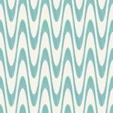 Seamless geometric wavy mesh pattern Stock Image