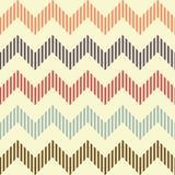 Seamless geometric wavy pattern Royalty Free Stock Photography