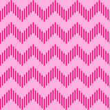 Seamless geometric wavy pattern Royalty Free Stock Photography